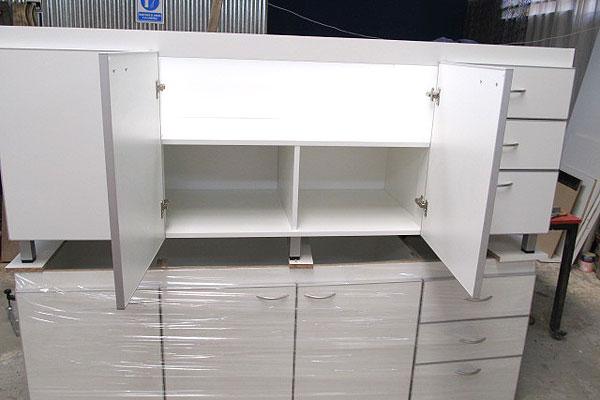 Fabrica de muebles de cocina en zona oeste norte capital for Planos de bajo mesada de melamina