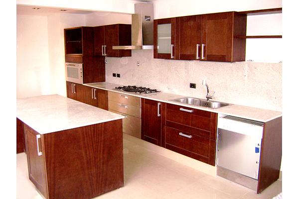 Fabrica de Muebles para Cocina Amoblamiento Bajo Mesadas Zona Oeste