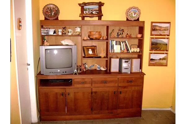 Fabrica de muebles para living lcd 32 42 zona oeste norte Mueble de algarrobo modular
