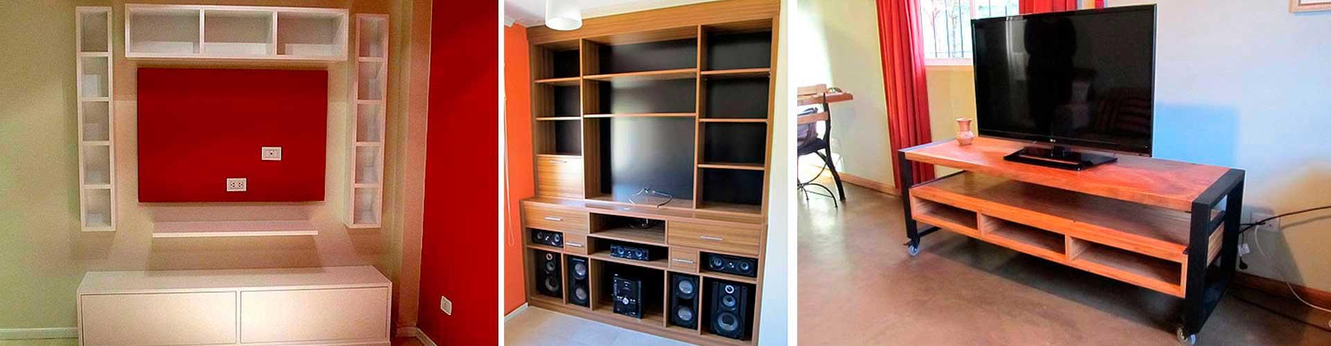 Fabrica de Muebles para Living LCD 32 42 Zona Oeste Norte a Medida