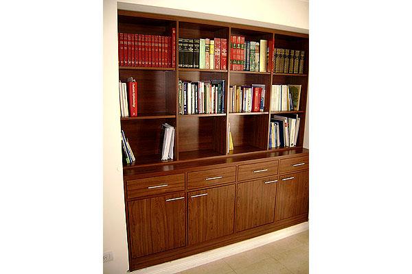 Fotos muebles biblioteca madera 20170728125107 for Bibliotecas muebles