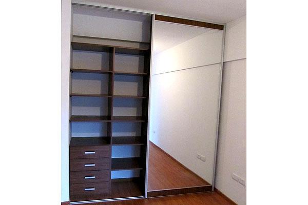 Placares a medida vestidores modernos en zona oeste norte for Espejos modernos para habitaciones
